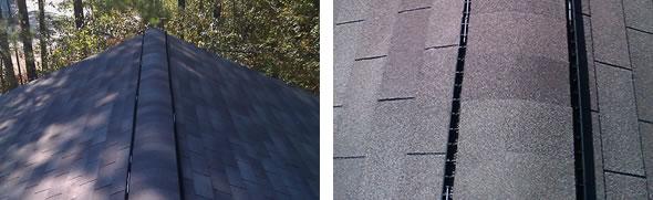 Shingle Roof Ridge Vents