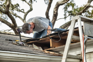 Roof repair by roofing contractors in Americus, GA